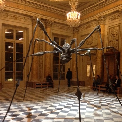 """Maman"" Louise Bourgeois, Fiac 2017, Paris."