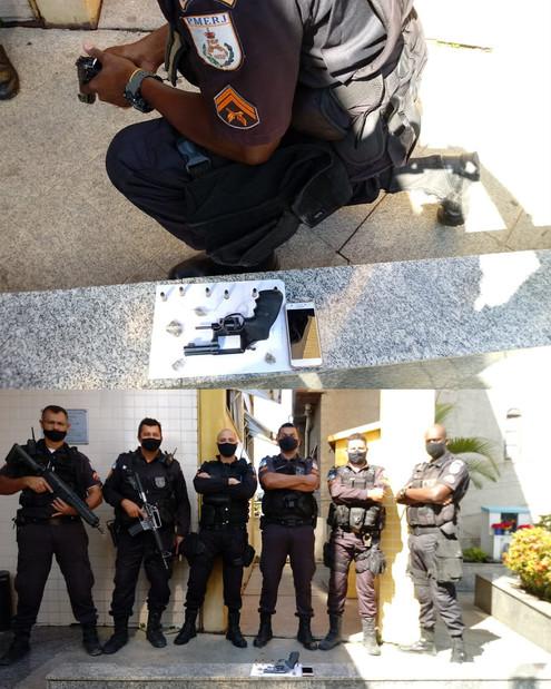 TRÊS RIOS: Jovem de 17 anos apreendido com arma e droga no bairro Vila Isabel