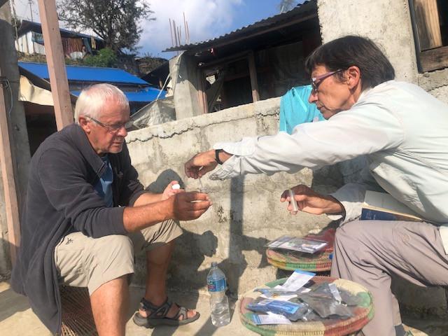 Réseau d'eau Népal Association Maili