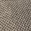 pashmina écharpe châle cachemire laine gris blanc chaude épaisse tissage huit plis association Maili