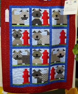 Baby Quilt, 3rd Place