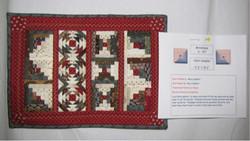 Miniature Quilt: Cabin Sampler