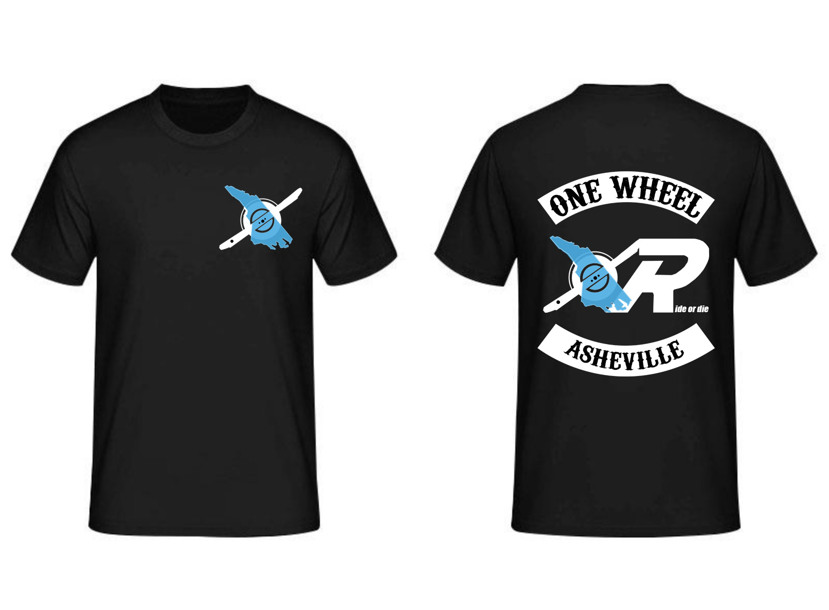 One Wheel Asheville Shirts