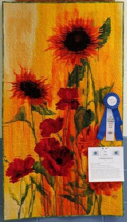 Art Quilt, 1st Place