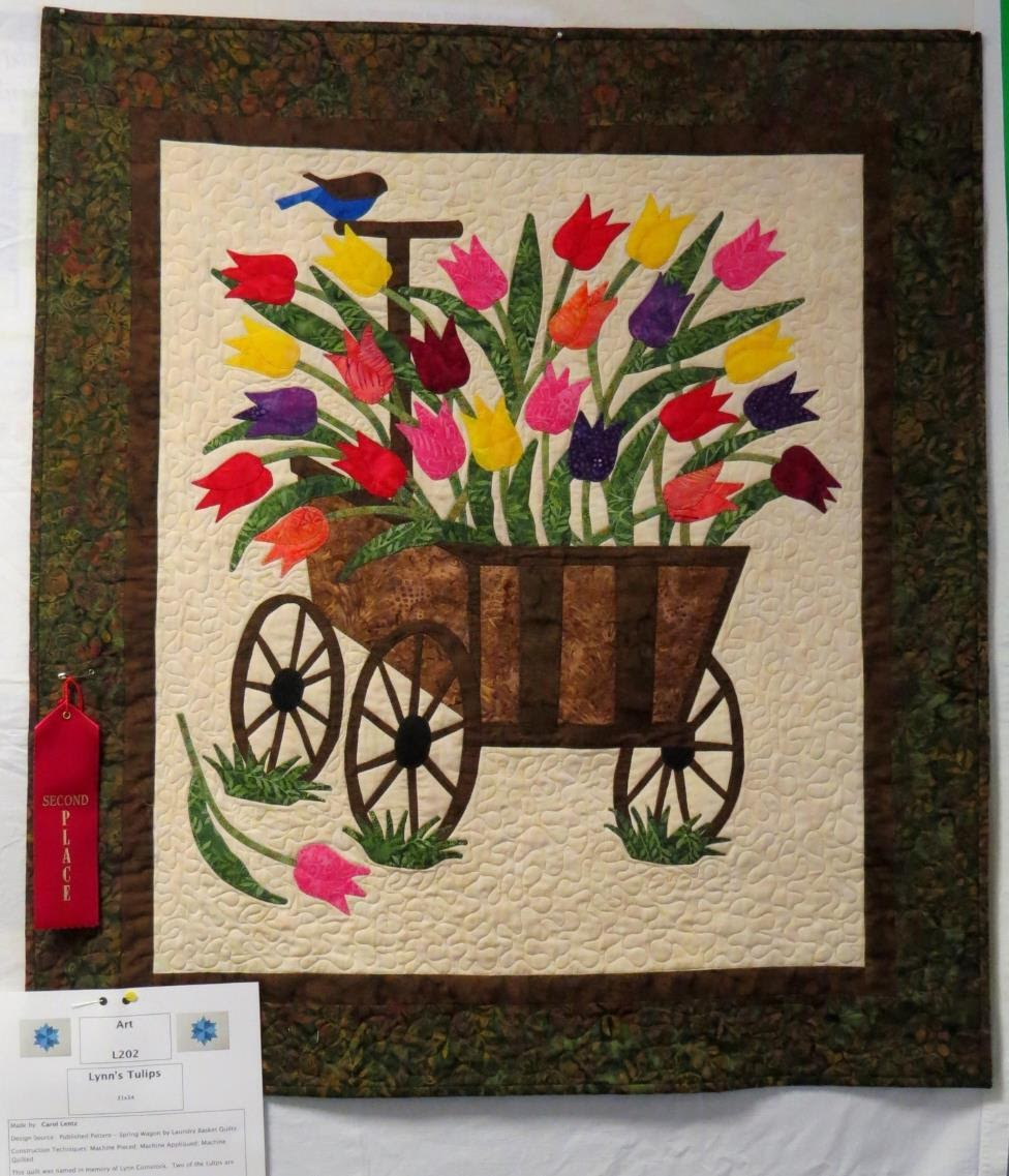 Art Quilt, 2nd Place