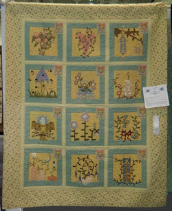 Wall Quilt, 3rd Place