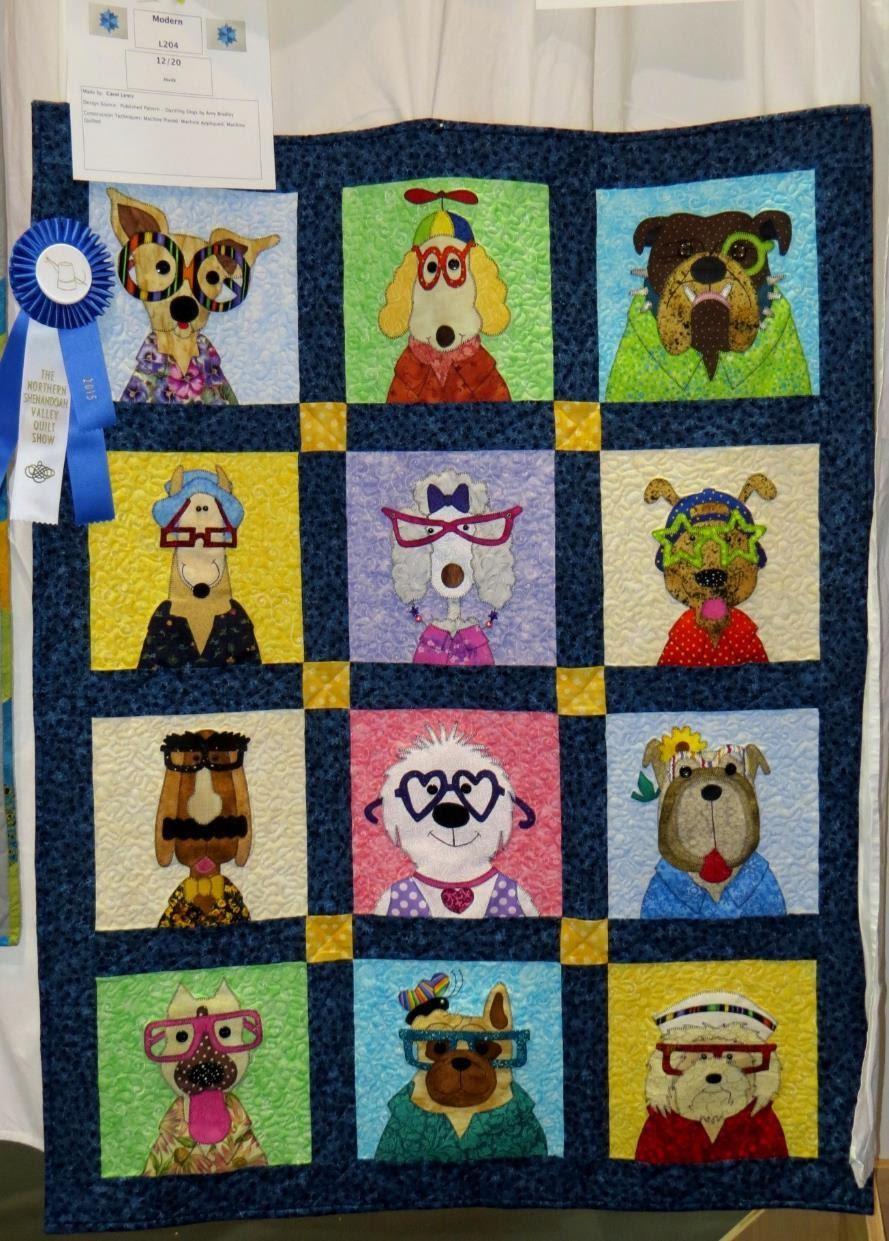 Modern Quilt, 1st Place