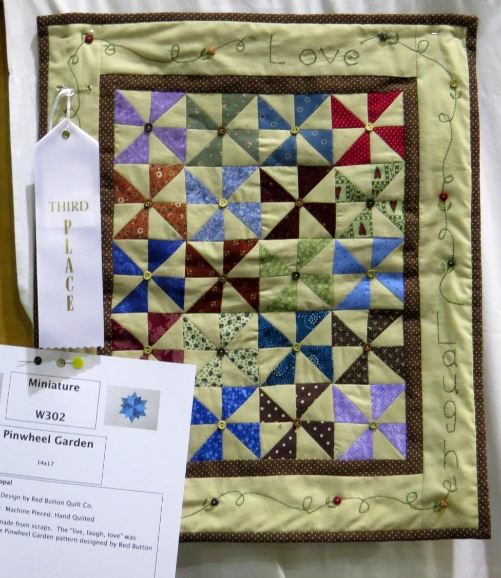 Miniature Quilt, 3rd Place