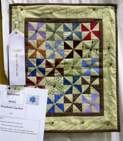 Miniature Quilt, 3rd Place