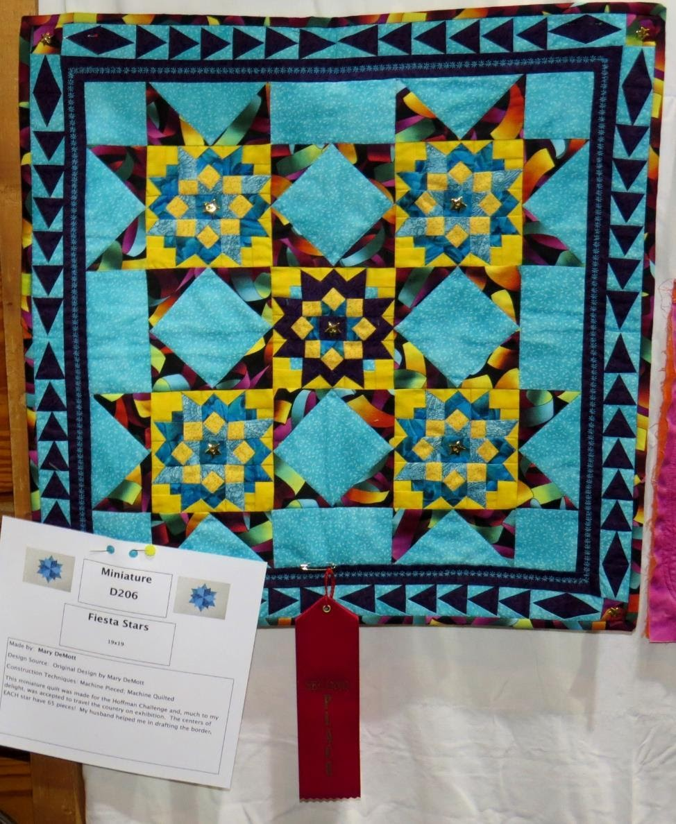 Miniature Quilt, 2nd Place