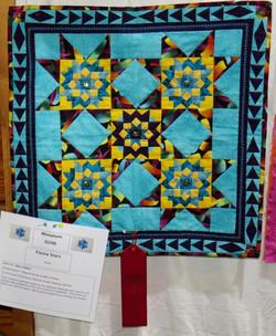 Miniature Quilt, 2nd Place