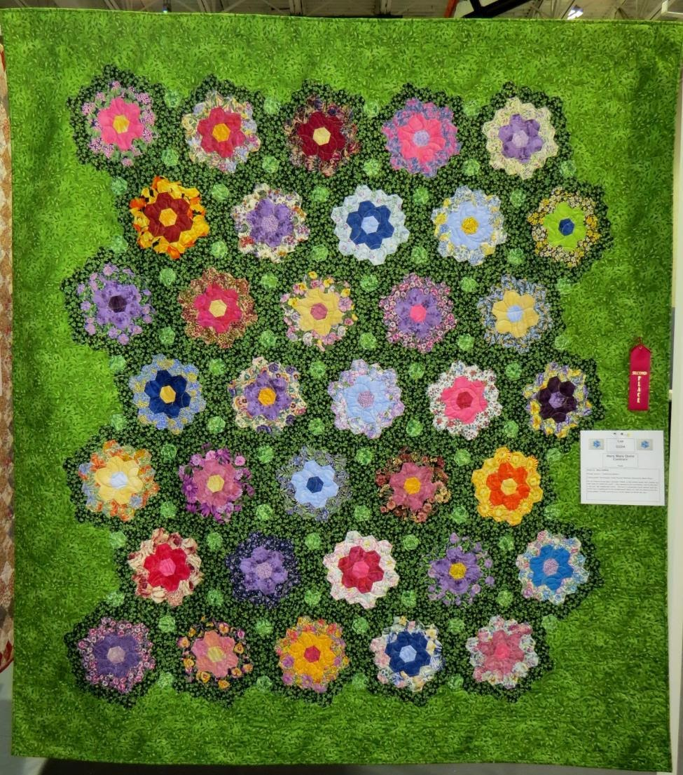 Lap Quilt, 2nd Place