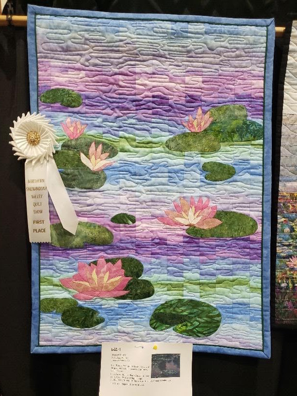 1st Place: Water Lilies