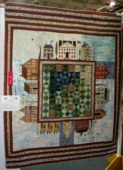 Wall Quilt, 2nd Place