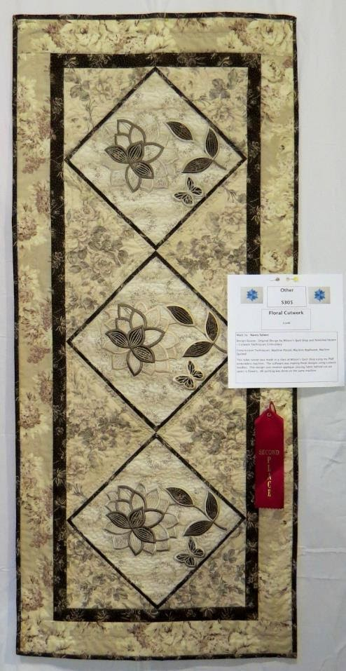 Other Quilts, 2nd Place
