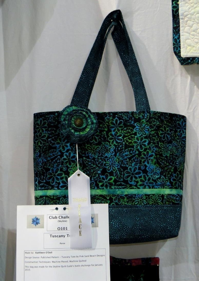 Skyline Quilters, 3rd Place