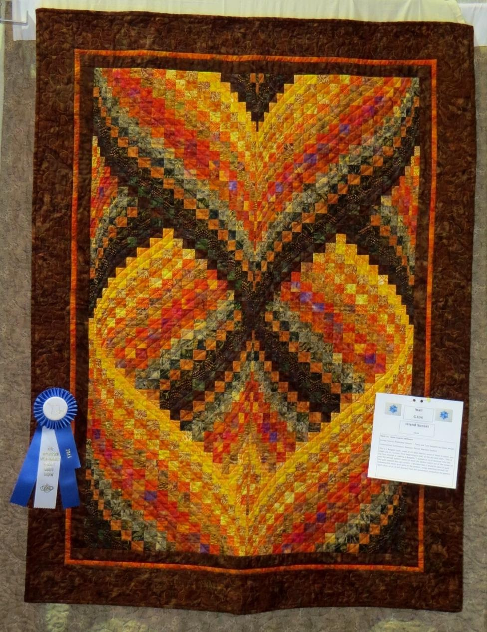 Wall Quilt, 1st Place