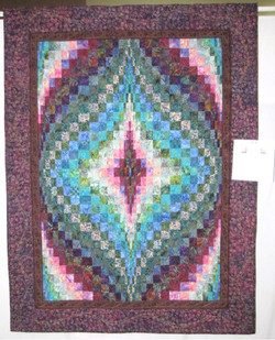 Lap Quilt: Rick's Jelly Bargelly