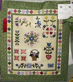 Baby Quilt, 2nd Place