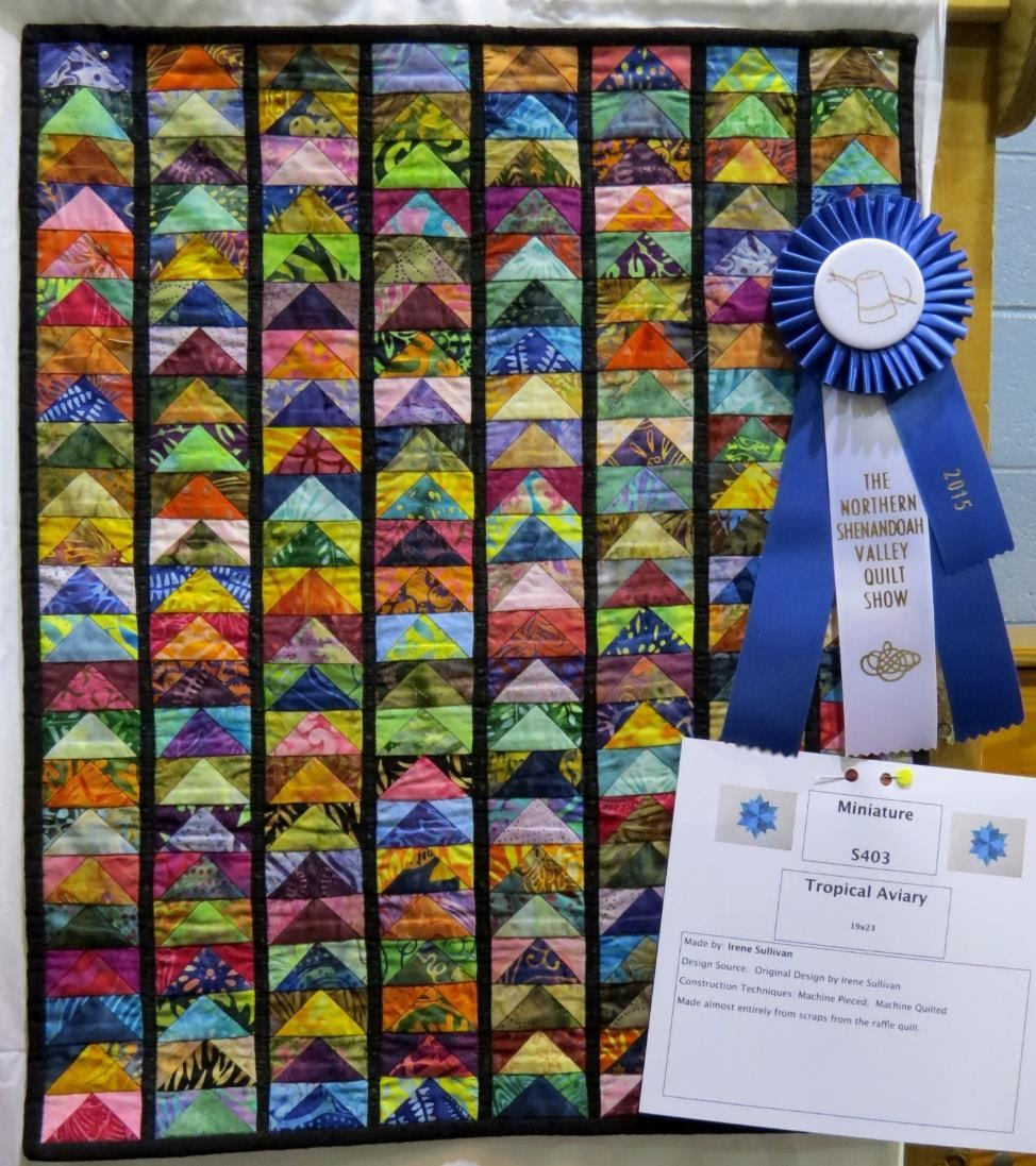 Miniature Quilt, 1st Place