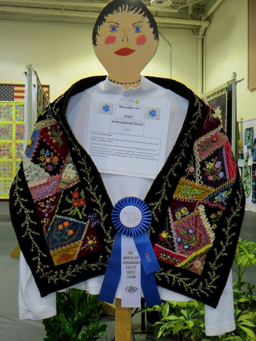 Quilted Wearables, 1st Place