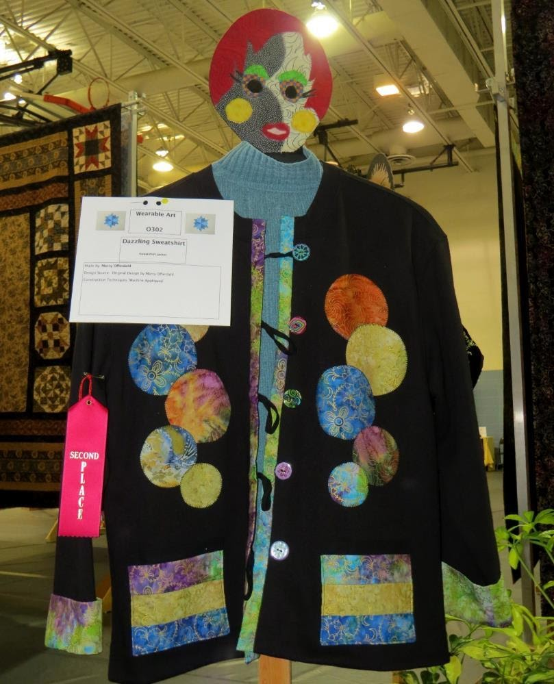 Quilted Wearables, 2nd Place