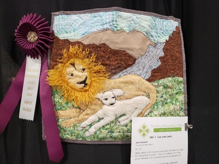 Winner: Lion and Lamb