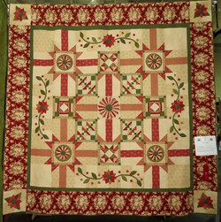 Bed Quilt, 2nd Place