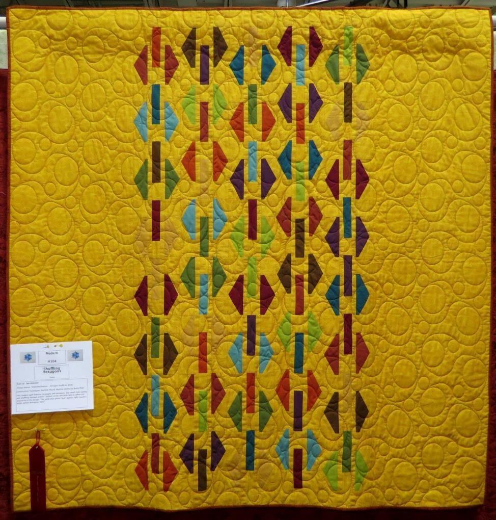 Modern Quilt, 2nd Place