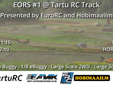 EORS 2020 #1 Tartu RC Track 06.06
