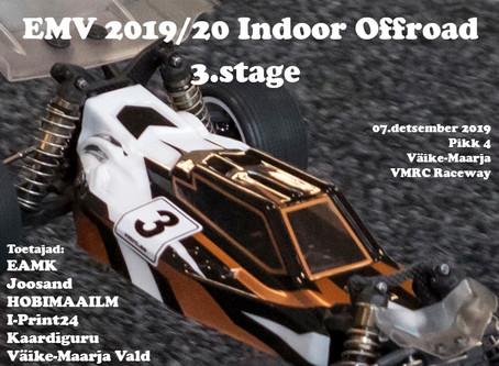 EMV Indoor Offroad 2019/20 3.etapp 7.12 VMRC Raceway