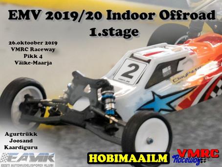 EMV Indoor Offroad 2019/20 1.etapp 26.10 VMRC Raceway
