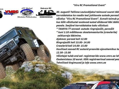 Viru RC promotional event @ Tallinna Lauluväljak