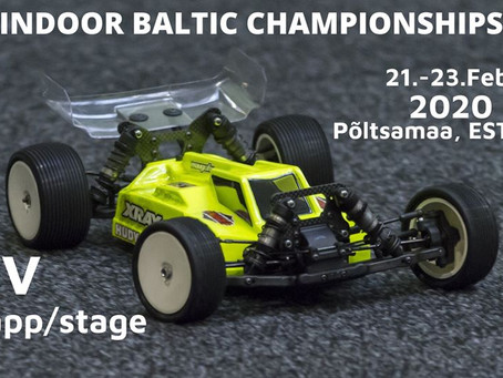 Indoor Baltic Championship EMV5 21-23 veebruar Põltsamaa