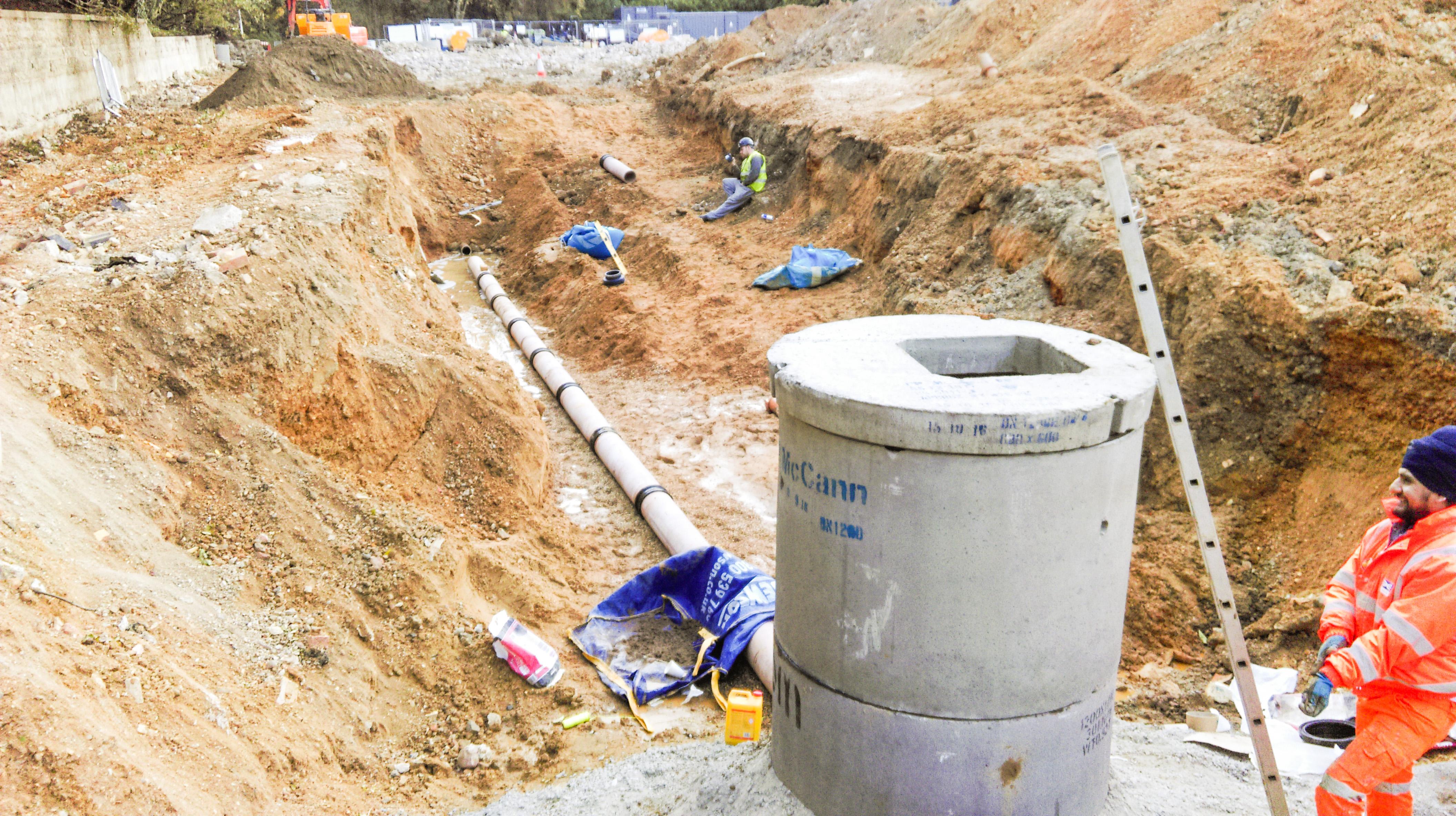 Civils drainage