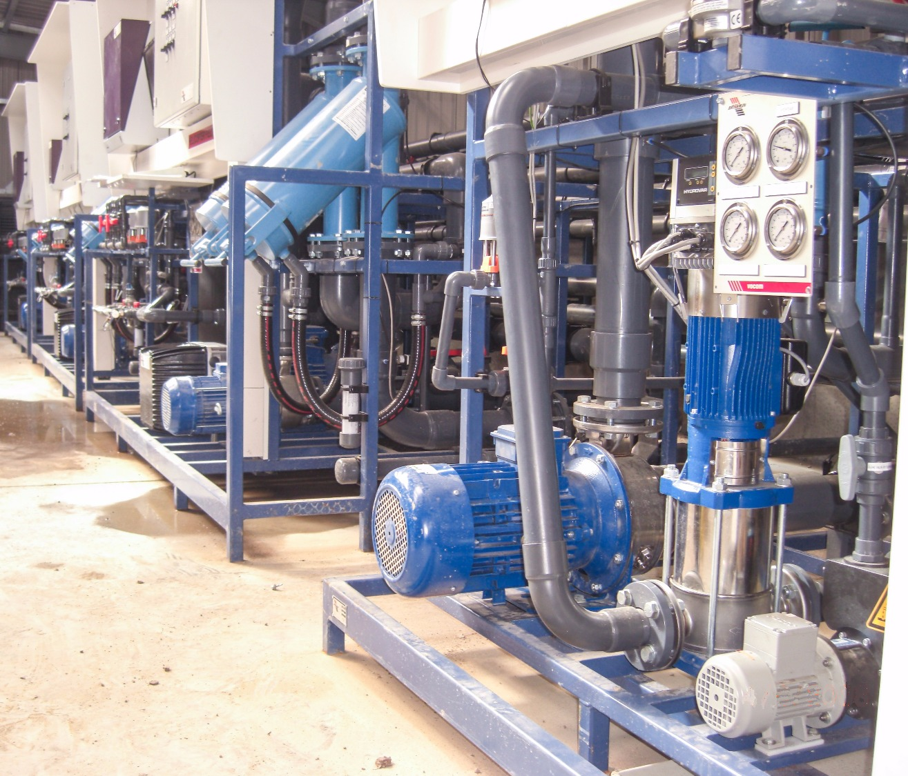 Pumping & control systems
