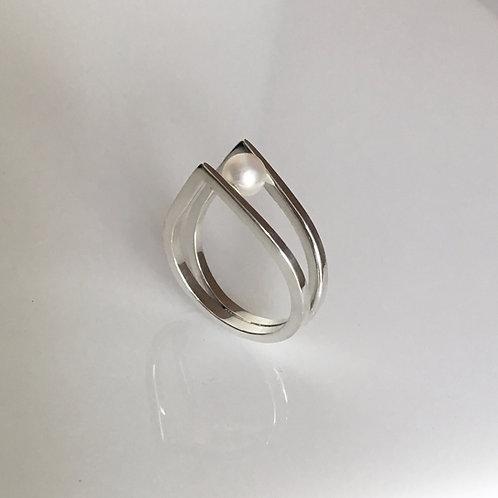 anel solitário corona