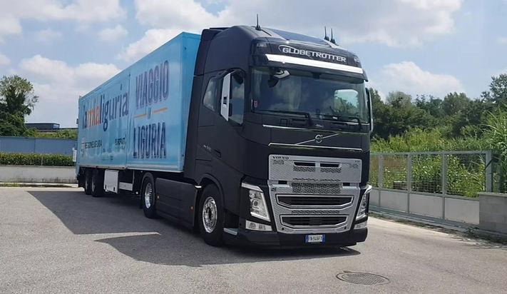 Truck tour Regione Liguria