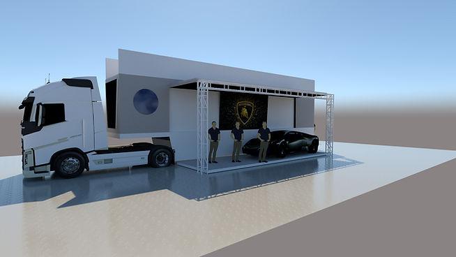 noleggio truck esposizione