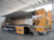 noleggio truck terrazzo espositivo