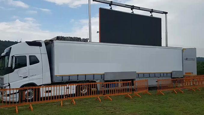 noleggio camion ledwall 45 mq