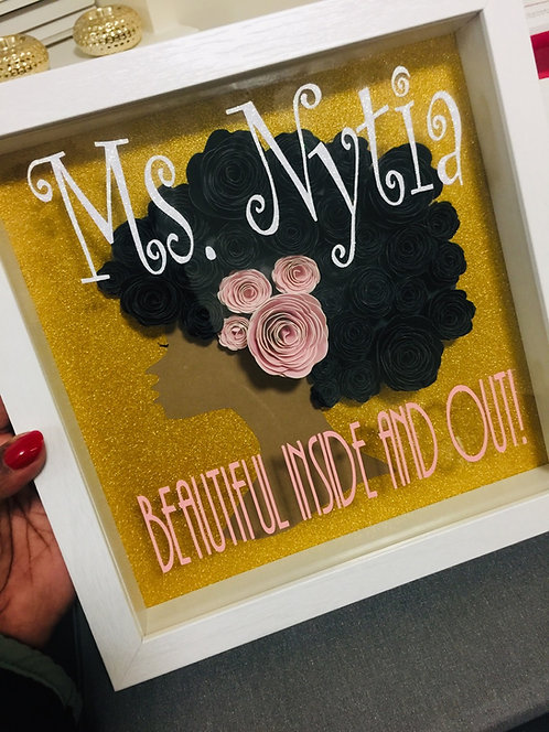Personalized Afro Puff