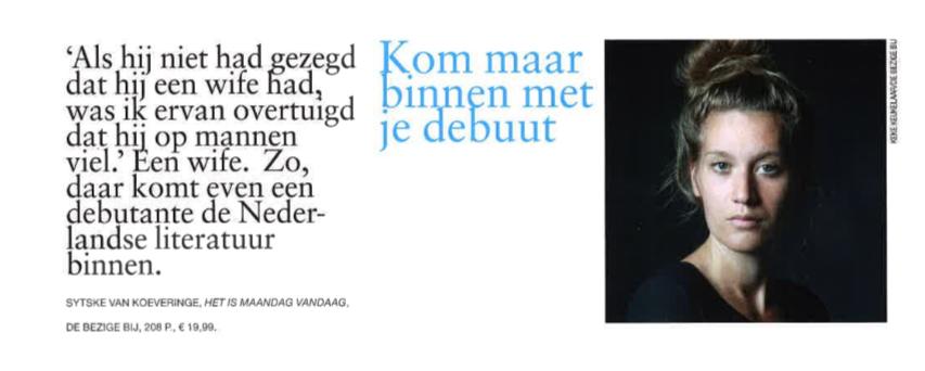 Mini recensie Vrij Nederland