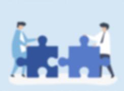 partnership-people-connecting-jigsaw-pie