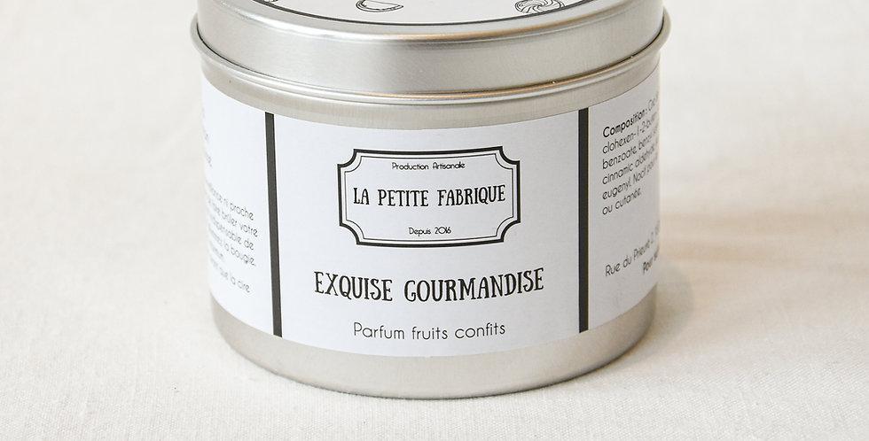 """""""Exquise gourmandise"""" - métal"""