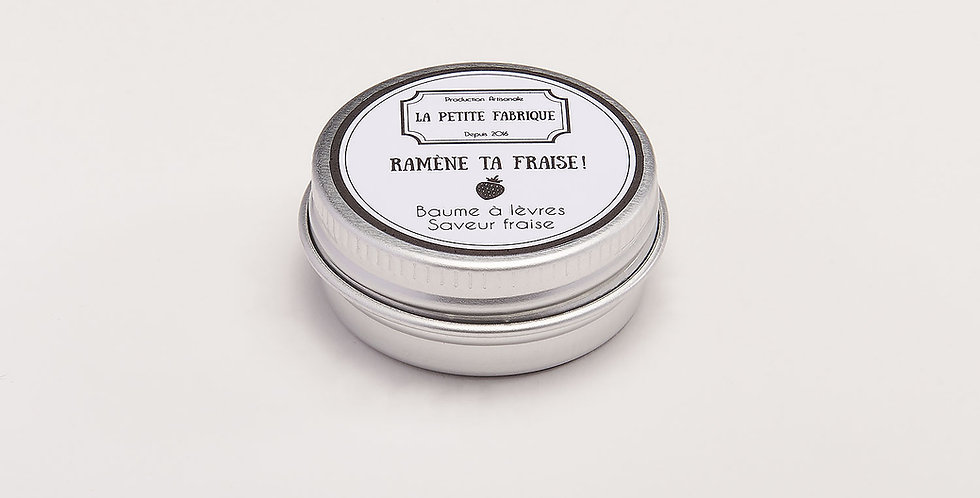 "Baume à lèvres ""Ramène ta fraise"""