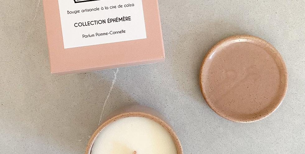 Bougie collection éphémère - Pomme/Cannelle