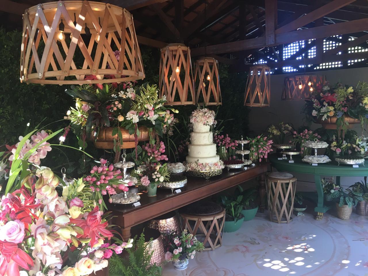 Casamento na fazenda da família