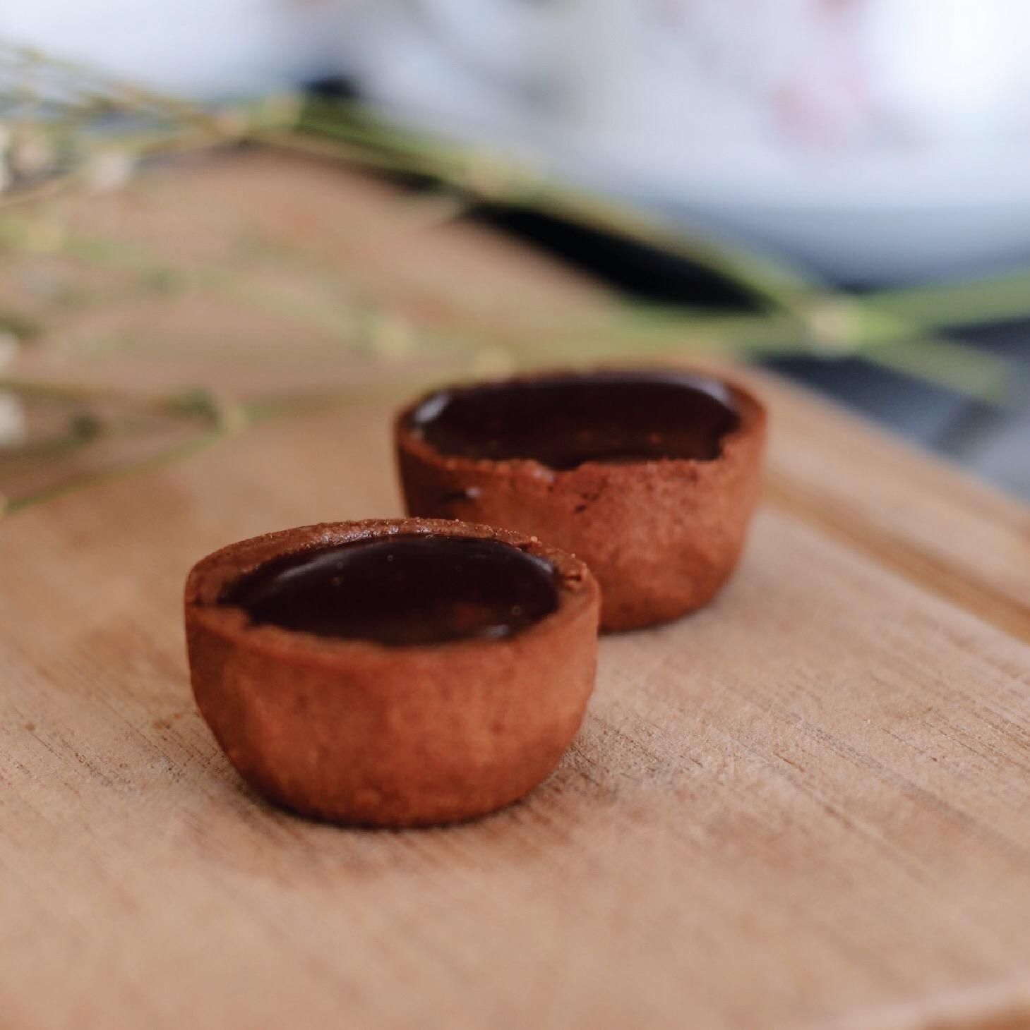 Tortelette de Caramelo e Chocolate