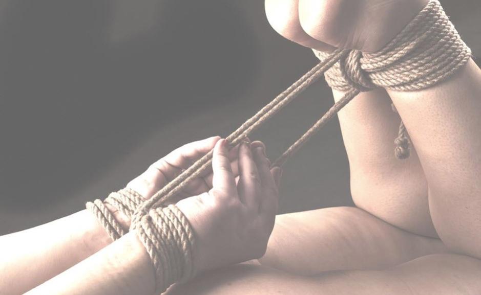 rope hogtie